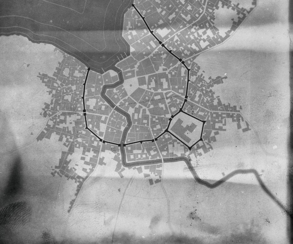 Eine Karte der Unterstadt.
