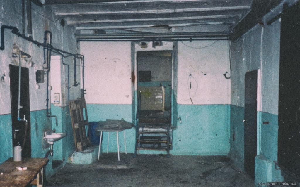Eingangshalle zum Proberaum