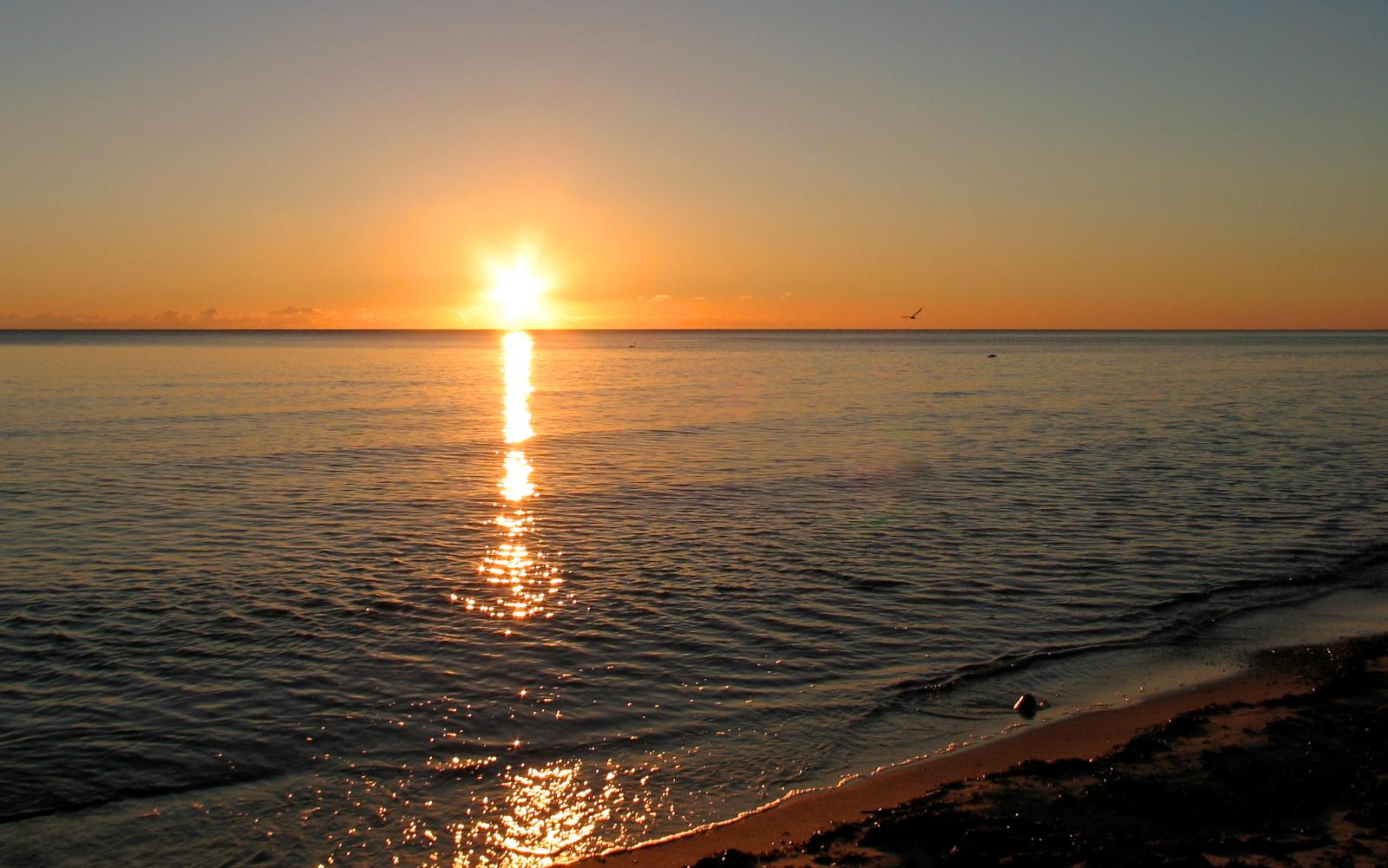 Sonnenaufgang an der Ostsee – Dadanaut