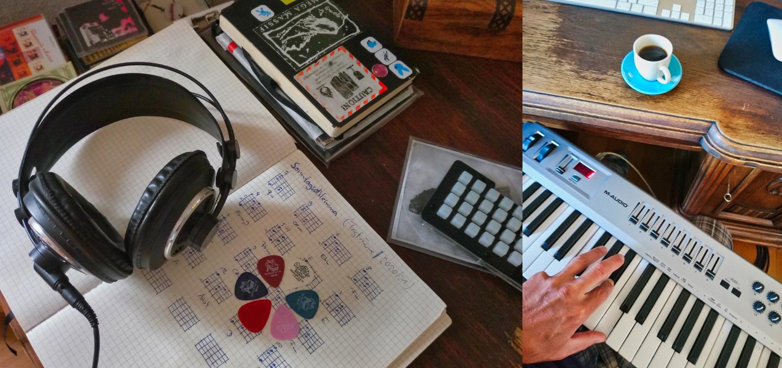Kopfhörer-Musik aus'm Klanglabor direkt in's Musikregal und auf die Ohren der Zuhörer