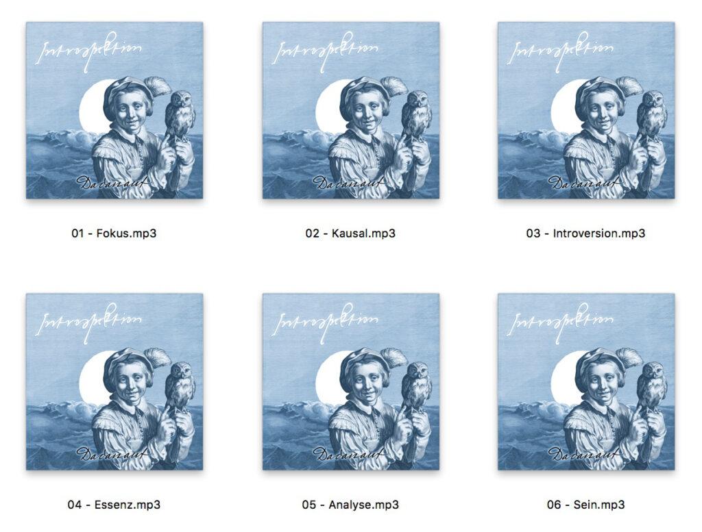 Introspektion. Ein Dadanaut Musik-Album zum kostenlos herunter laden.