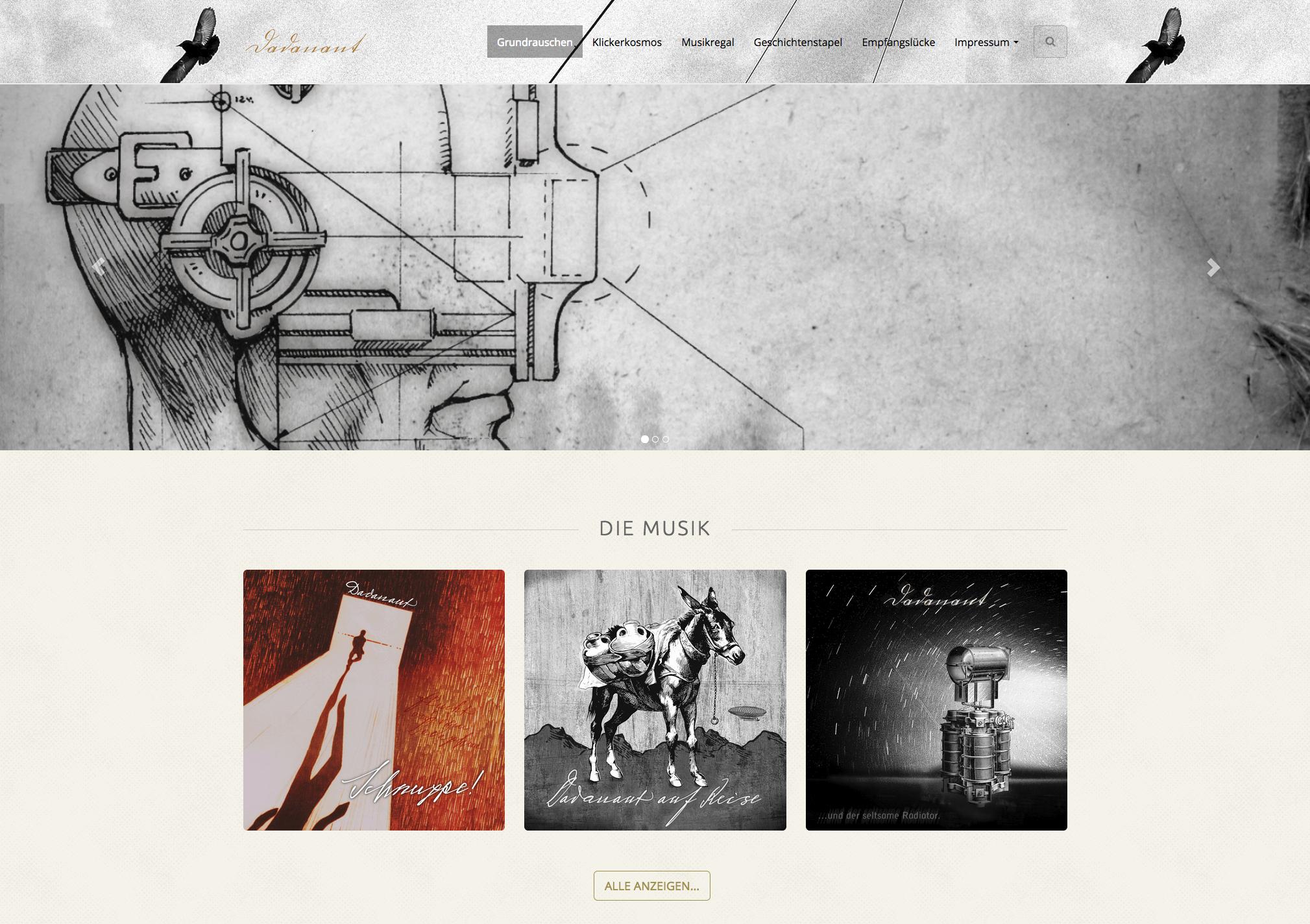 Neuanfang. Ein weiterer Relaunch für die Homepage der Dadanauten.