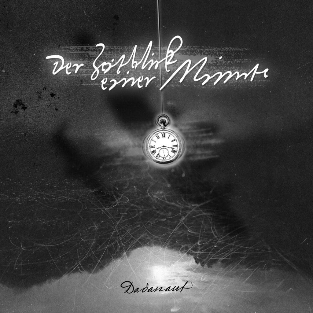 Der Zeitblick einer Minute – vorläufiges Titelbild – Cover