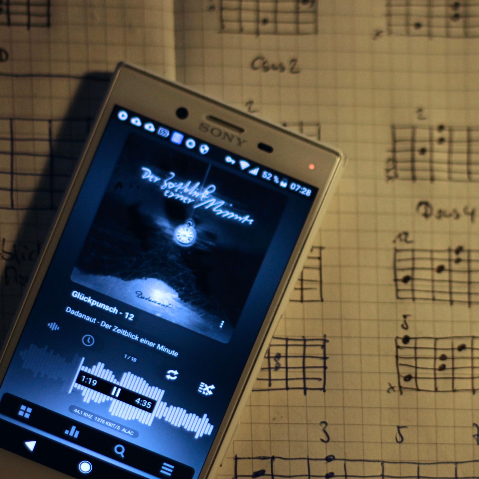 Im Moment: Der Zeitblick einer Minute – ein Musik-Album von Dadanaut