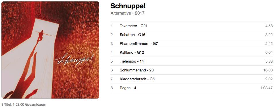Schnuppe! – Album-Vorschau – 2