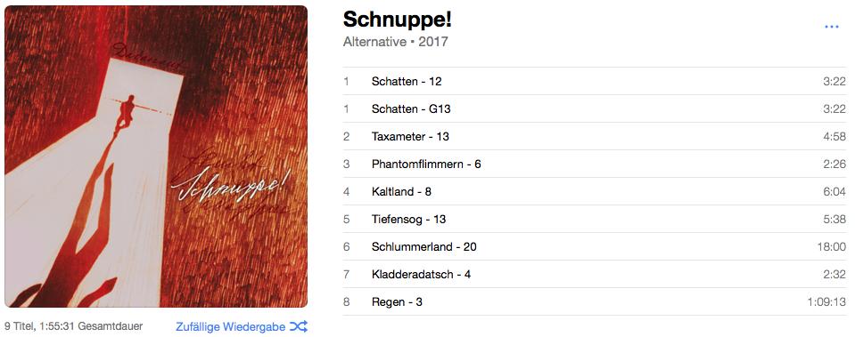 Schnuppe! – Album-Vorschau – 1