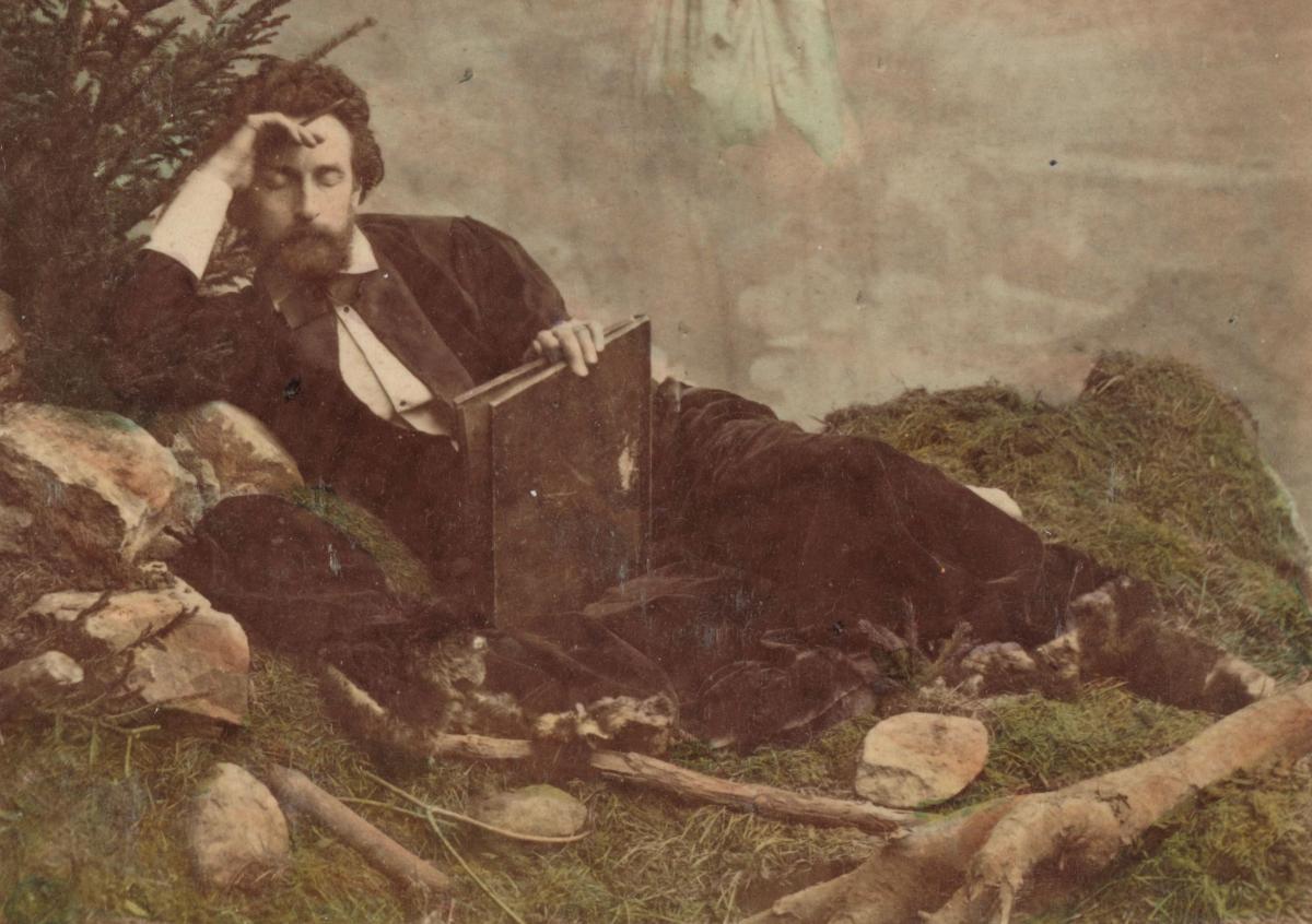 Der Dichter – Tagträumer in den Bergen